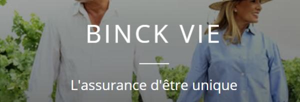 binck vie